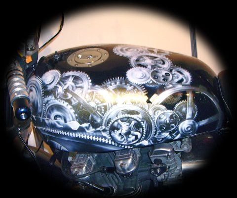 Motor Bike Custom Paint Jobs Limerick
